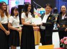 นักศึกาษา สาขาวิชาเทคโนโลยีสารสนเทศ ชั้นปีที่ 3 ชนะเลิศการออกแบบสื่อโปสเตอร์